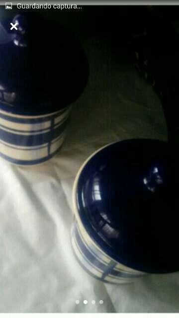 Imagen 2 tarros de cerámica