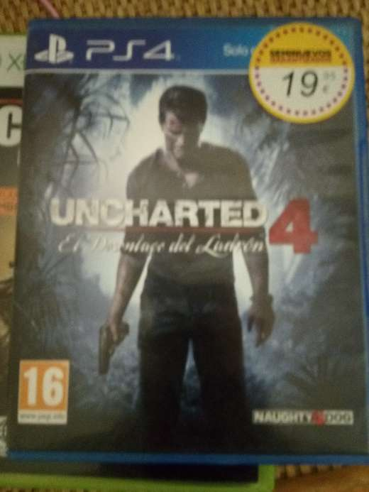 Imagen producto Uncharted 4 1