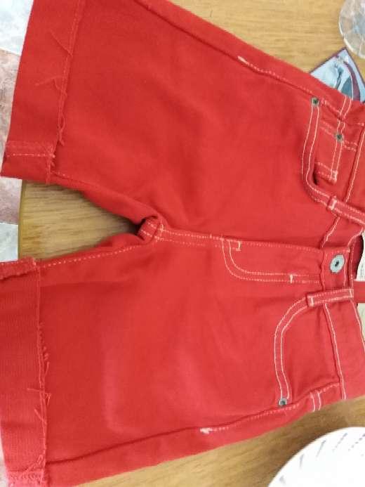 Imagen producto Bermuda niño rojo 2