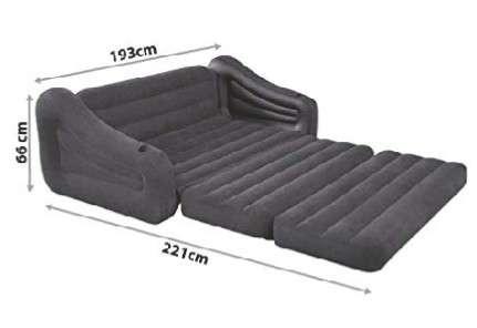 Imagen producto Sofa cama hinchable nuevo 4