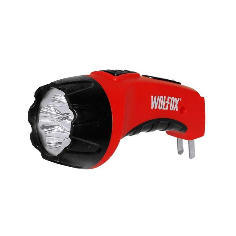 Imagen Linterna recargable ergonómica 4 LEDS WF9641 Wolfox 2x121