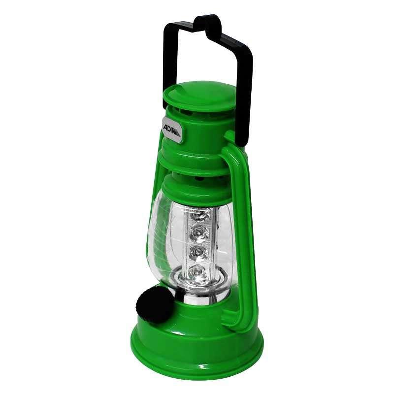 Imagen Lampara LED de campamento tipo farol verde 4375 Adir