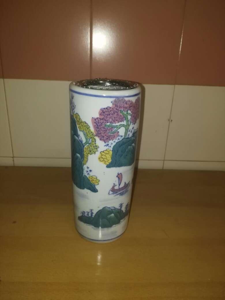 Imagen florero porcelana