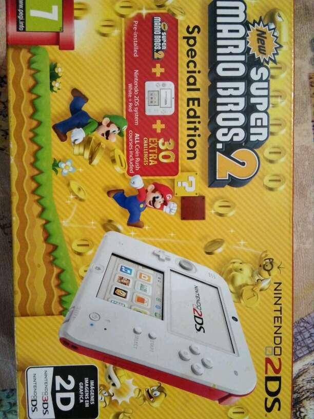 Imagen Nintendo 2dscon juego