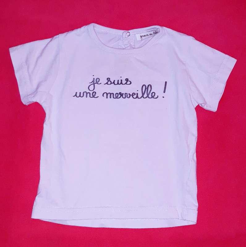 Imagen Camiseta  Grain de Blé, 18 meses.