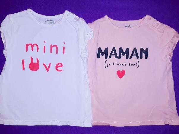 Imagen Camisetas, 18 meses.