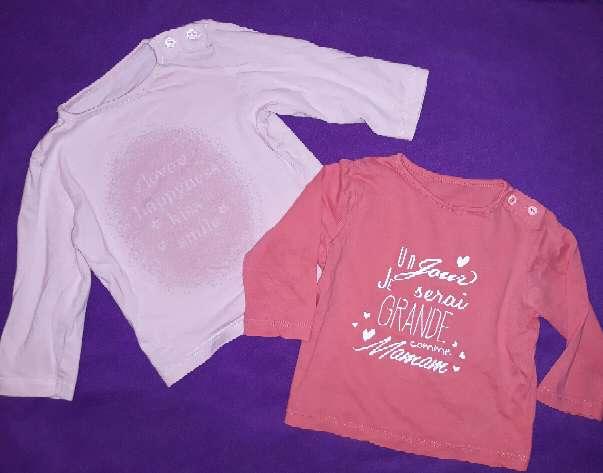 Imagen Camisetas, 6 meses.