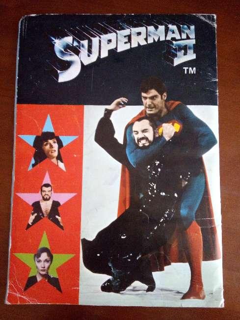 Imagen producto Album de cromos completo superman II de fher 1989 8