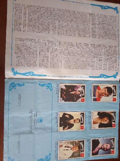 Imagen producto Album de cromos completo superman II de fher 1989 5
