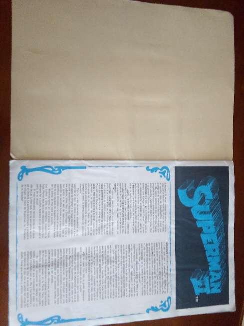 Imagen producto Album de cromos completo superman II de fher 1989 6