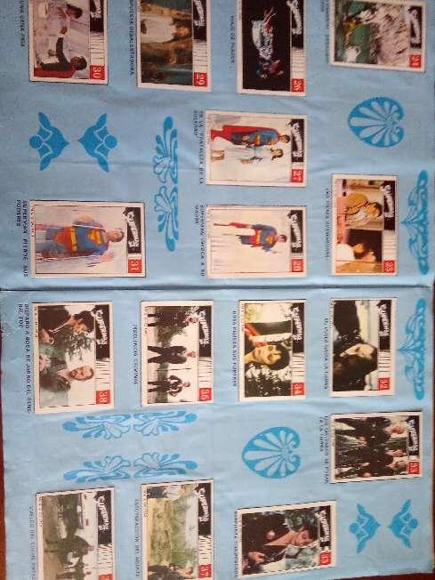 Imagen producto Album de cromos completo superman II de fher 1989 3