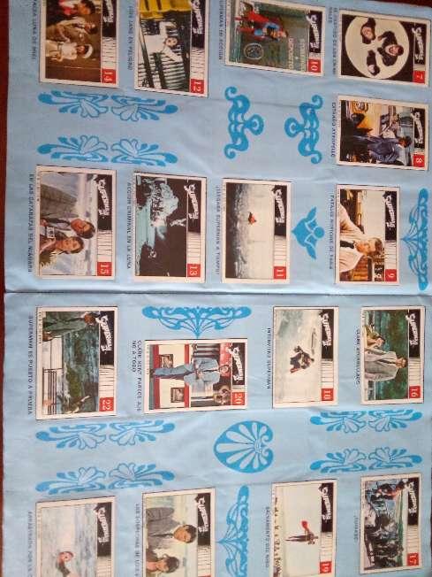 Imagen producto Album de cromos completo superman II de fher 1989 4