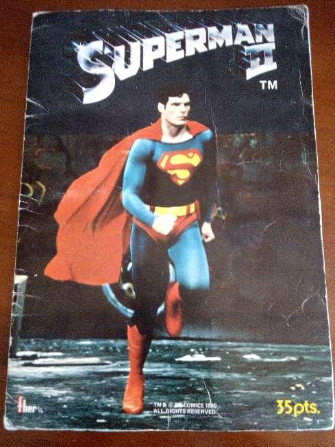 Imagen producto Album de cromos completo superman II de fher 1989 7