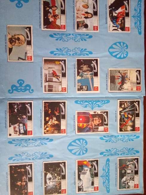 Imagen Album de cromos completo superman II de fher 1989
