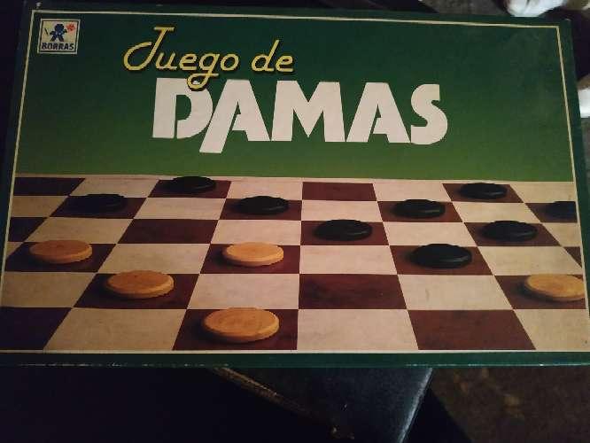 Imagen juego de damas