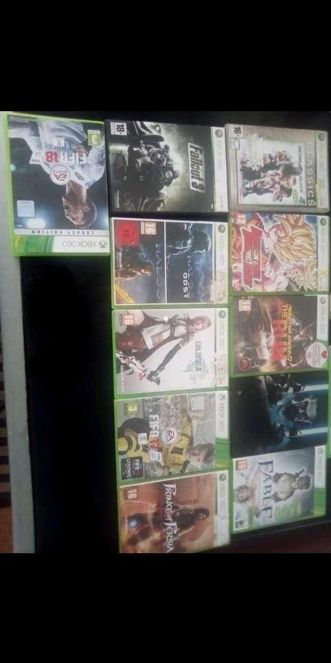 Imagen producto Xbox 360 con juegos 3