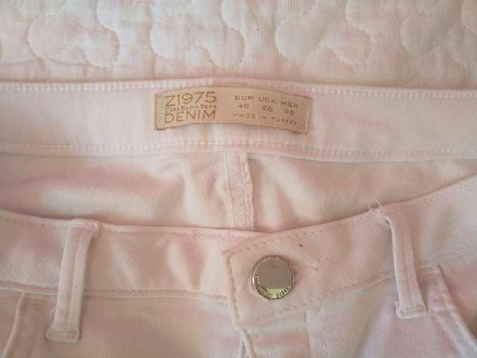 Imagen producto Pantalon largo blanco de Zara 4