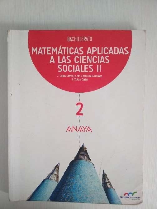 Imagen matemáticas aplicadas a las ciencias sociales 2°bachillerato