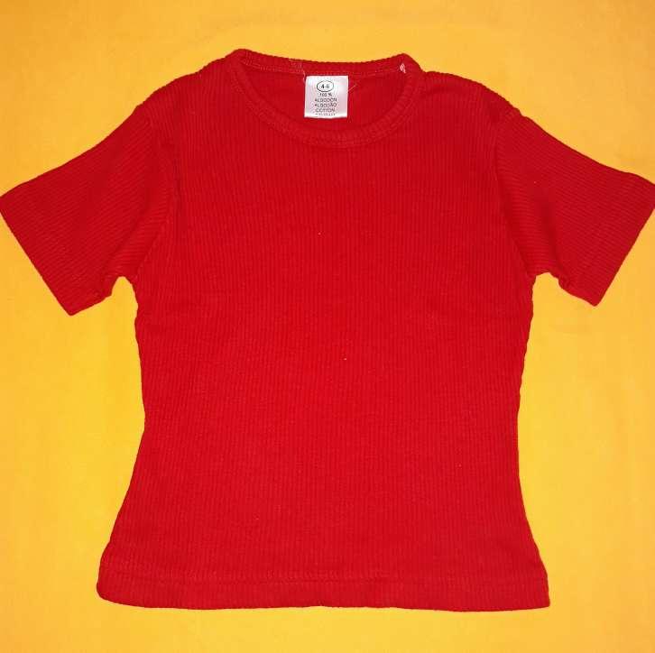 Imagen Camiseta canalé, 4-5 años.