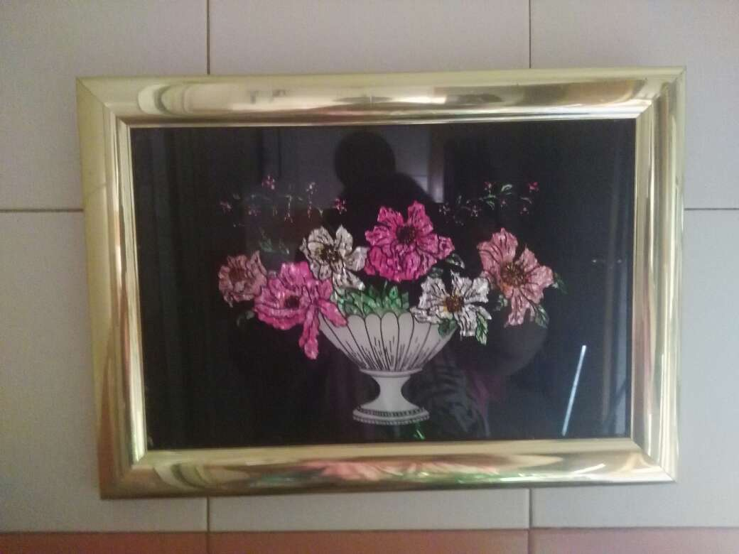 Imagen cuadro flores