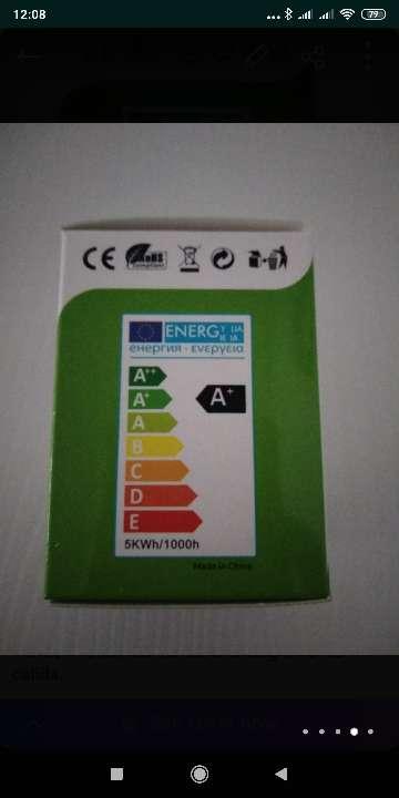 Imagen producto Focos led luz blanca o cálida  4