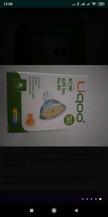 Imagen producto Focos led luz blanca o cálida  5