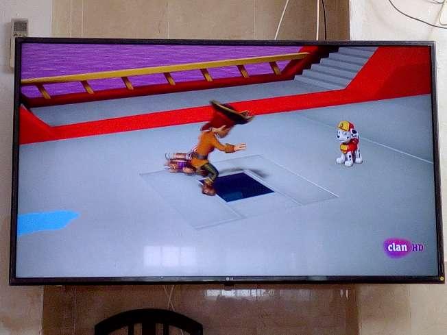 Imagen televisión LG 55
