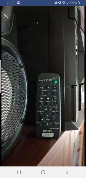 Imagen producto Vendo Minicadena Sony  3
