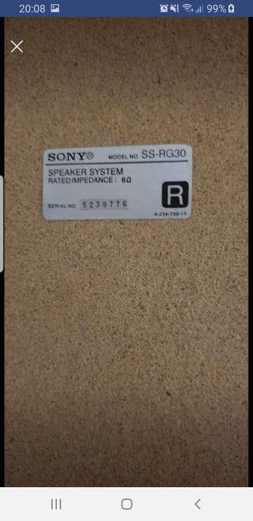 Imagen producto Vendo Minicadena Sony  5