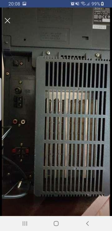 Imagen producto Vendo Minicadena Sony  4