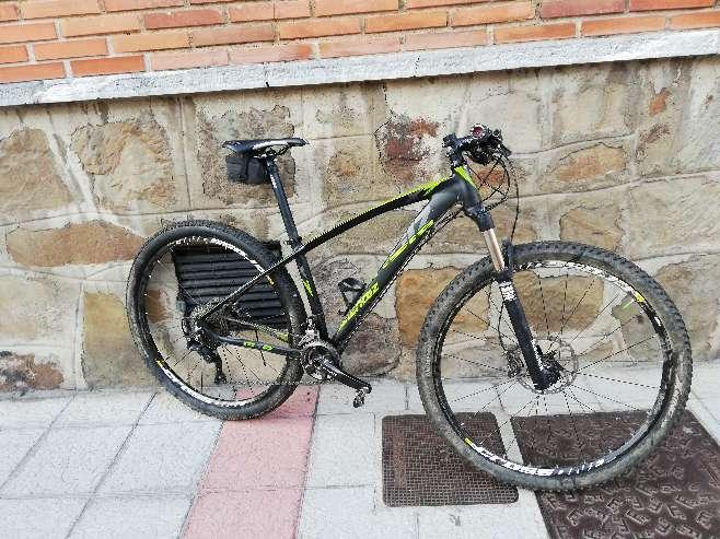 Imagen producto Bicicleta de montaña Mendiz X7 29r 8
