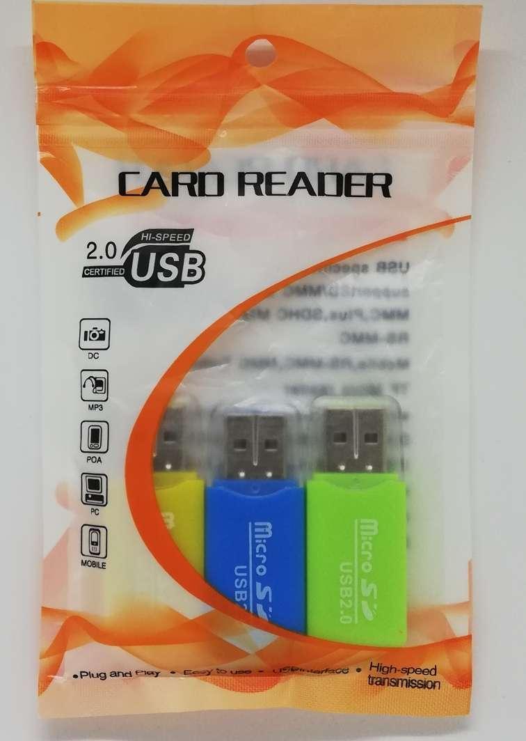 Imagen producto Adaptador USB para tarjetas micro SD hasta 64GB 1