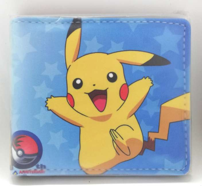 Imagen Cartera Pokémon Pikachu nueva