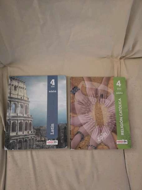Imagen producto Libros de texto de 4°Eso 4
