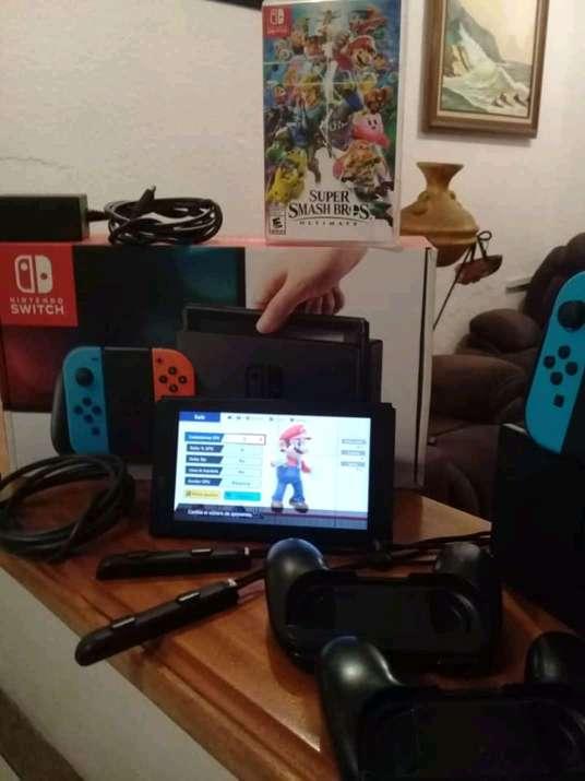 Imagen Consola Nintendo Swith