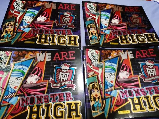 Imagen producto Albumes de monster high 1