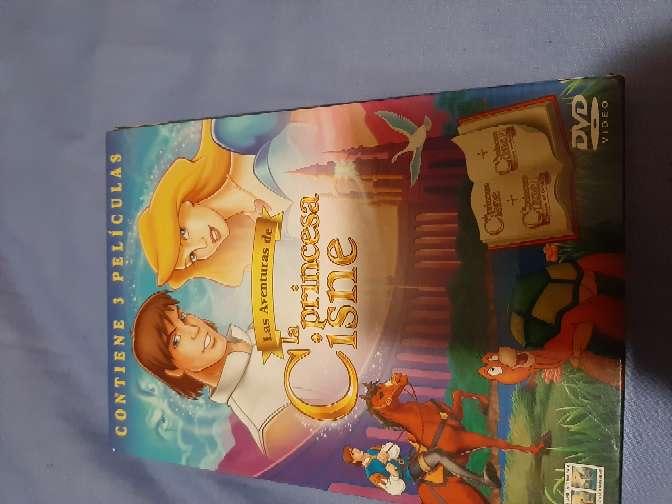 Imagen dvds packs la princesa cisne