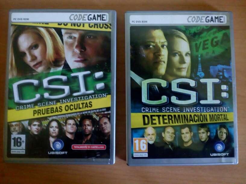 Imagen CSI pruebas ocultas y determinación mortal juegos de PC