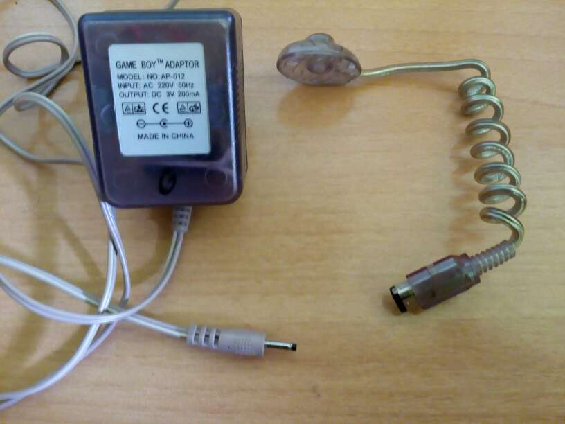 Imagen Adaptador de corriente para Game Boy,Lámpara Mini