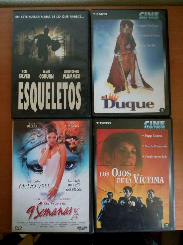 Imagen Películas DVD pack de 4 e