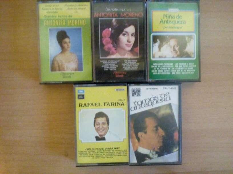Imagen Cintas de cassette pack de 5