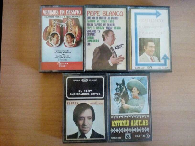 Imagen Cintas de cassette.Pepe Blanco,Fary,Antonio Aguilar