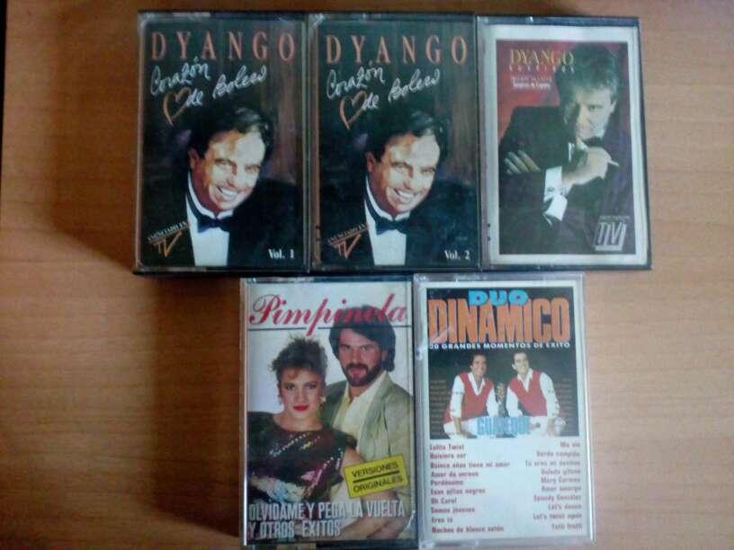 Imagen Cintas de cassette.Dyango,Pimpinela,Duo Dinamico