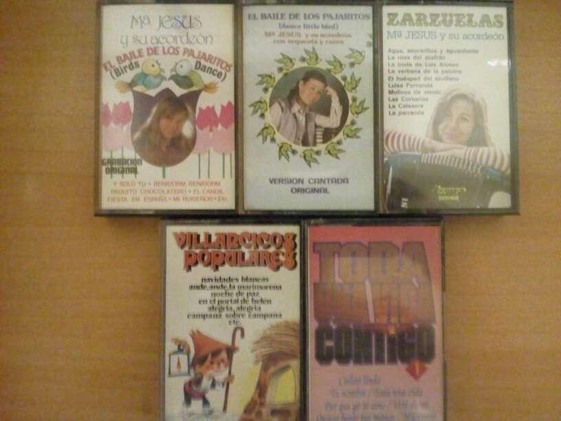 Imagen Cintas de cassette.Maria Jesus y su acordeón