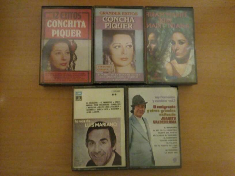 Imagen Cinta cassette.Concha Piquer,Juanito Valderama,...