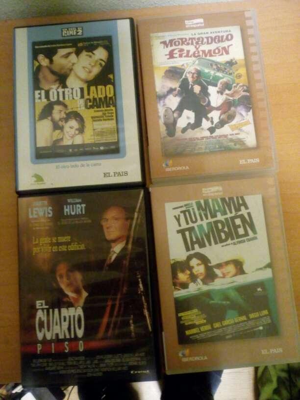 Imagen Películas de DVD pack de 4 d
