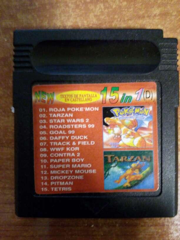 Imagen Juegos Game boy 15 juegos en uno
