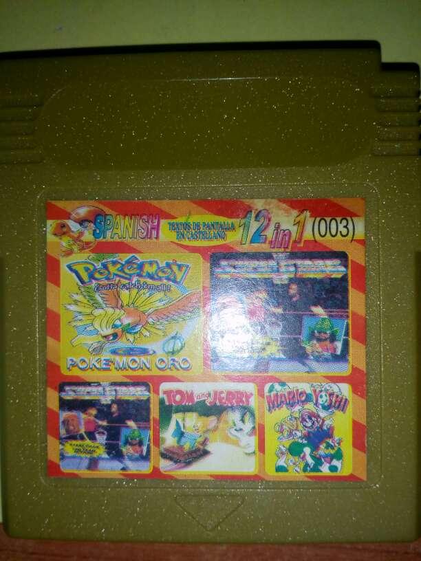 Imagen  Game boy 12 juegos en 1