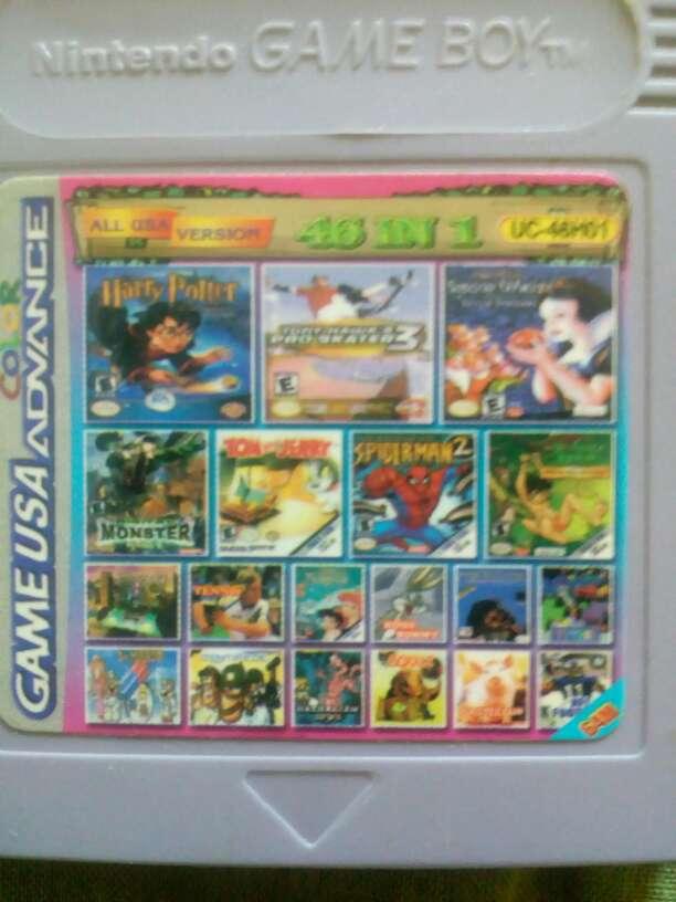Imagen Juego Game boy color 46 en uno