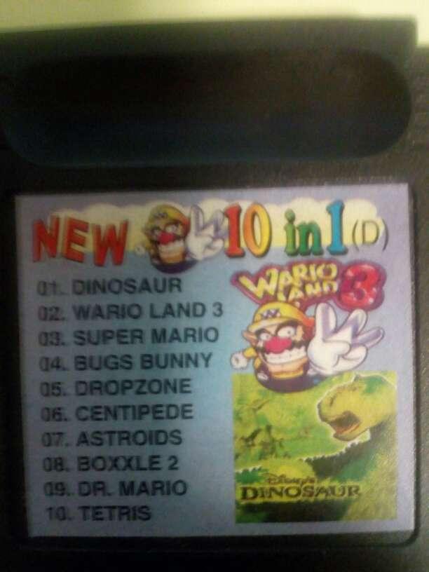 Imagen Juegos Game boy color 10 Juegos en uno